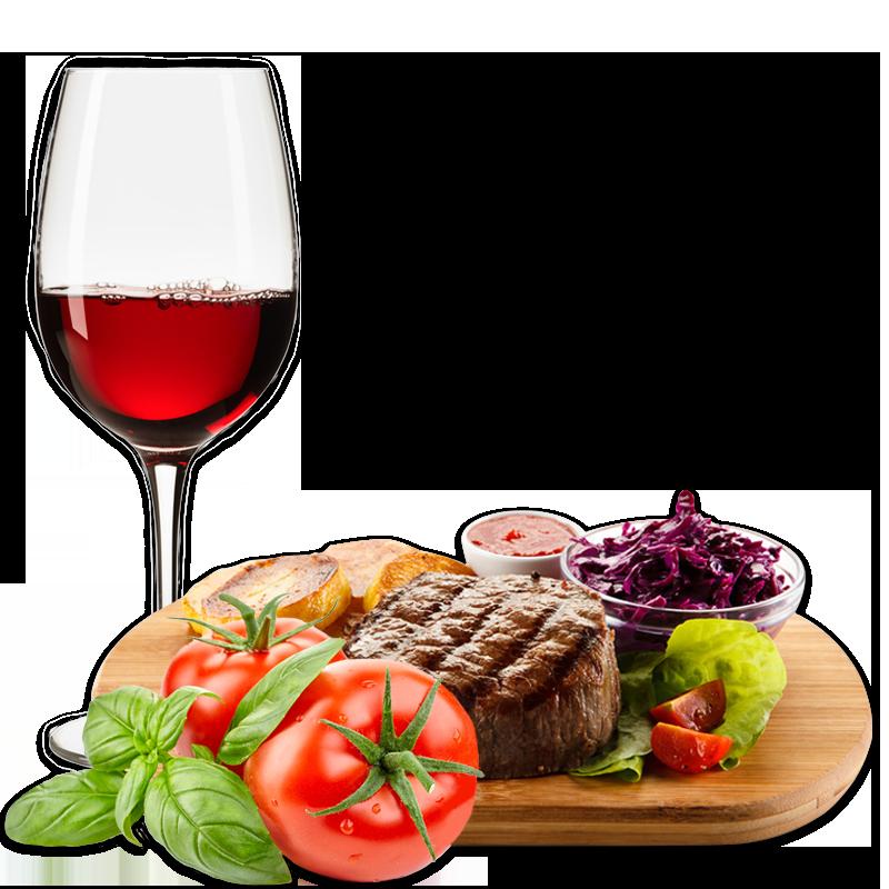 Restaurant mit schmackhaften Fleischgerichten, Hofprodukte, Südtiroler Weine