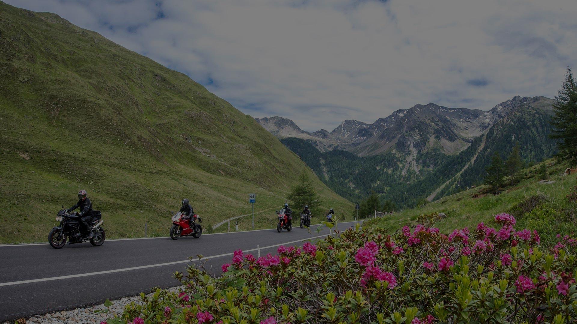 Bikerparadies im Sarntal, Südtirol - Bikers welcome