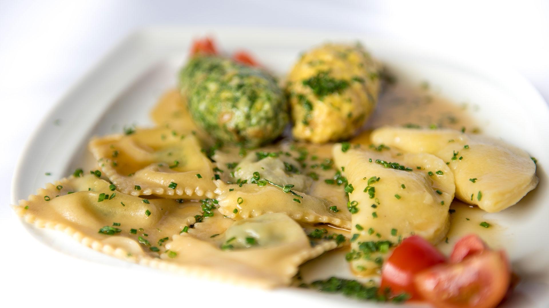 Teigtaschen | regionale und lokale Gerichte Südtirol